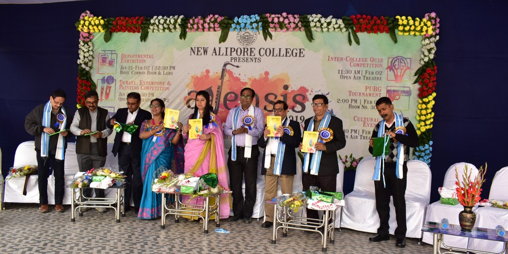 Innauguration of College Magazine